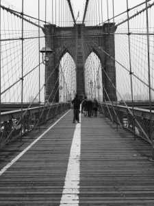 Brooklyn Bridge, [ New York]